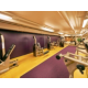 Contemporary fitness center is available daily free of charge