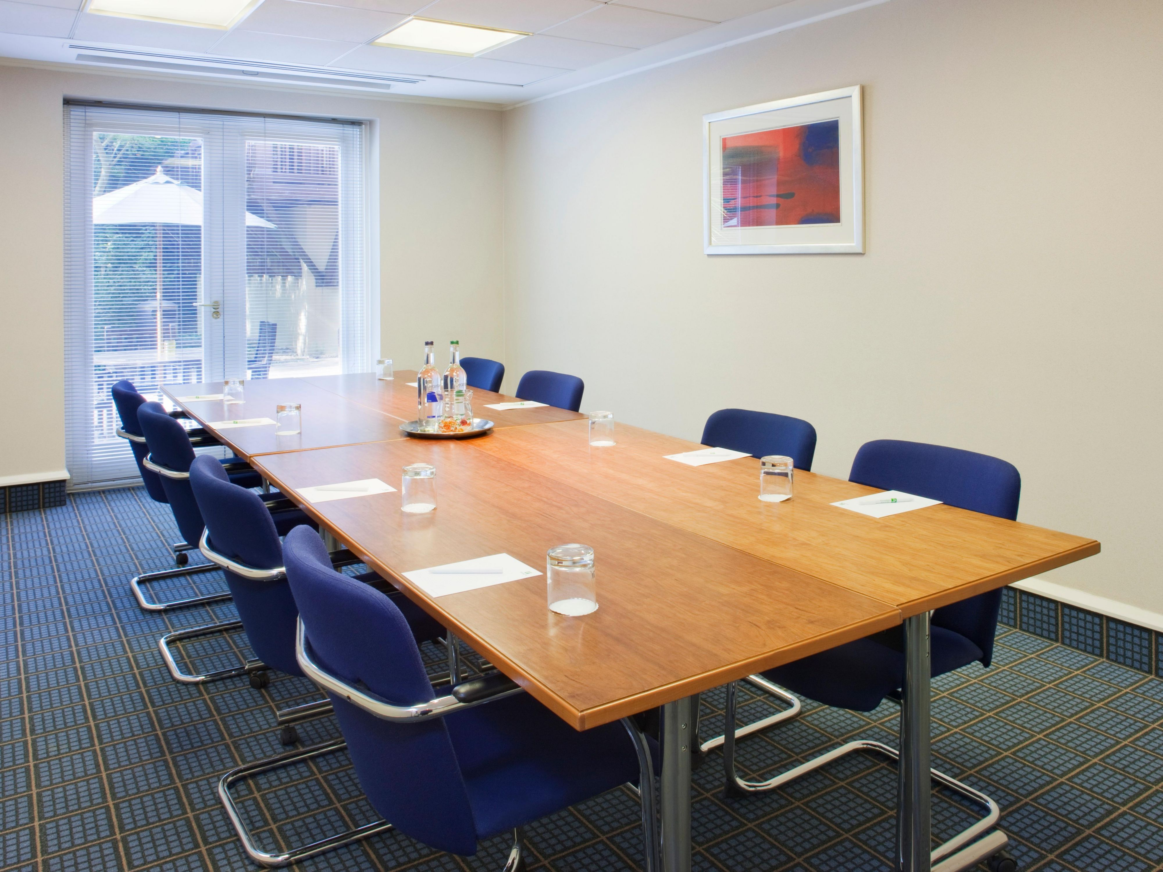 Modern Boardroom with outdoor access