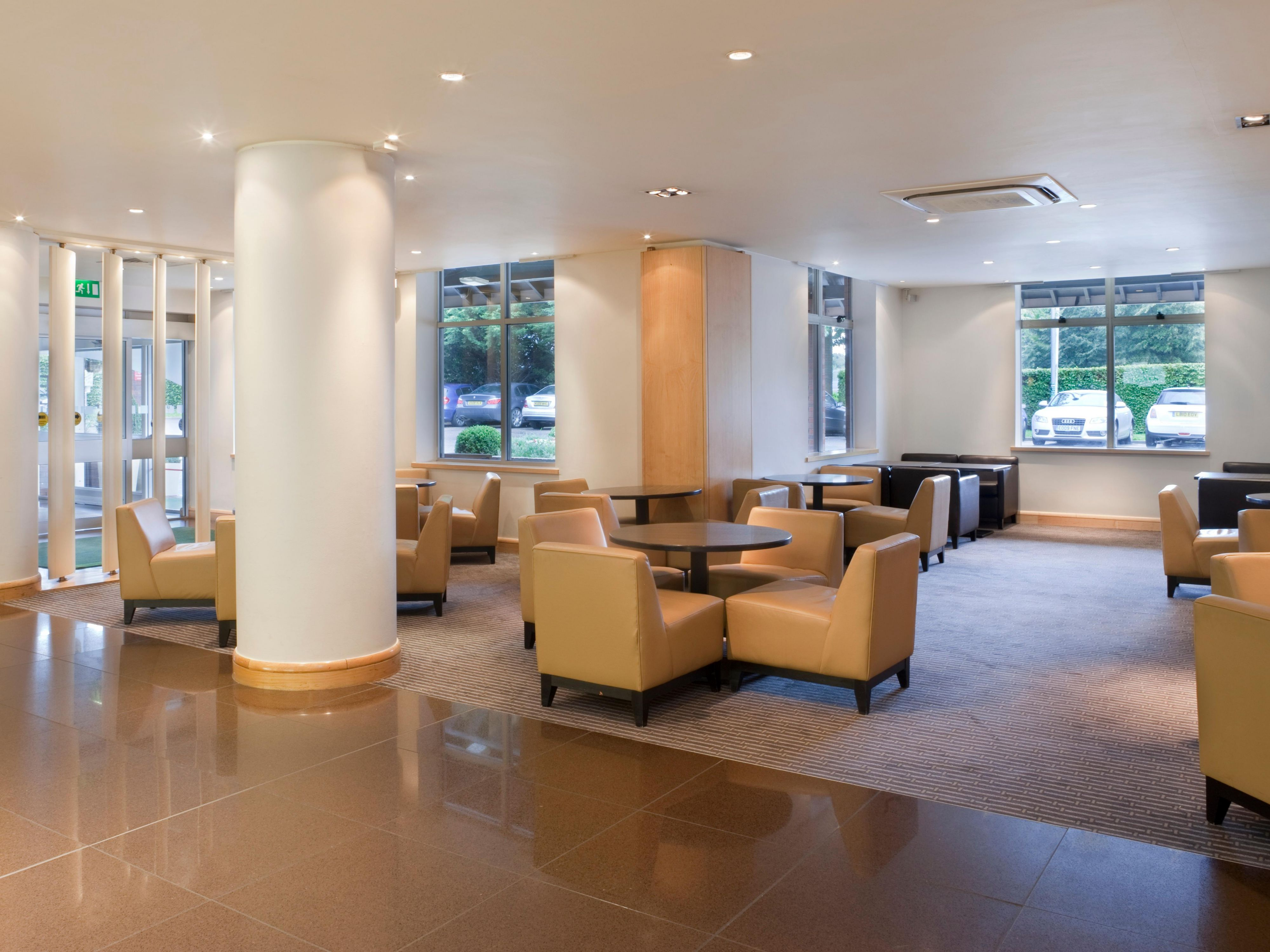 Hold your own private meeting in our Reception Lounge