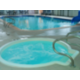 Hot Tub & Swimming Pool With Waterslide in Holiday Inn Hinton