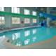 Swimming Pool With Waterslide & Sauna  in Holiday Inn Hinton