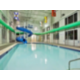 Swimming Pool With Waterslide in Holiday Inn Hinton