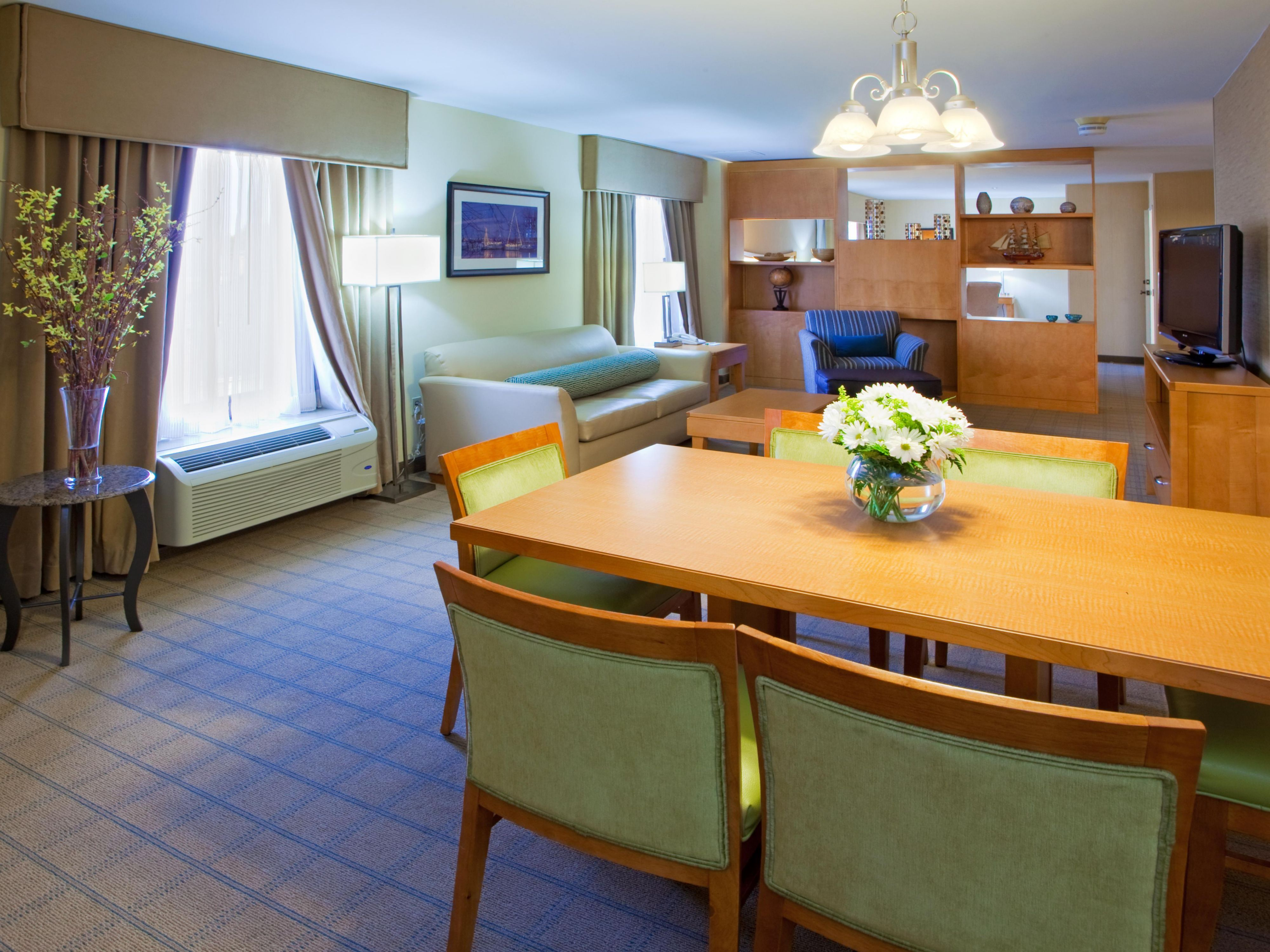Presidential Suite Includes Room For Entertaining & Fun