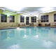 Our beautiful indoor pool area
