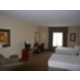 Relax in our spacious two queen bed handicap accessible room