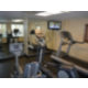 Stay fit on our treadmill, bicycle, and stair climber.