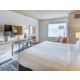 Watch planes from your King room across from Bellingham Airport