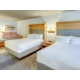 Double Queen with Trundle Bed Holiday Inn & Suites near Mt Baker