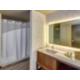 Deluxe Suite Bathroom across from the Bellingham Airport