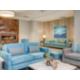 Relaxing lobby at Holiday Inn. Plane leaving Bellingham Airport?