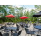 Patio seating available at Baxters American Grille