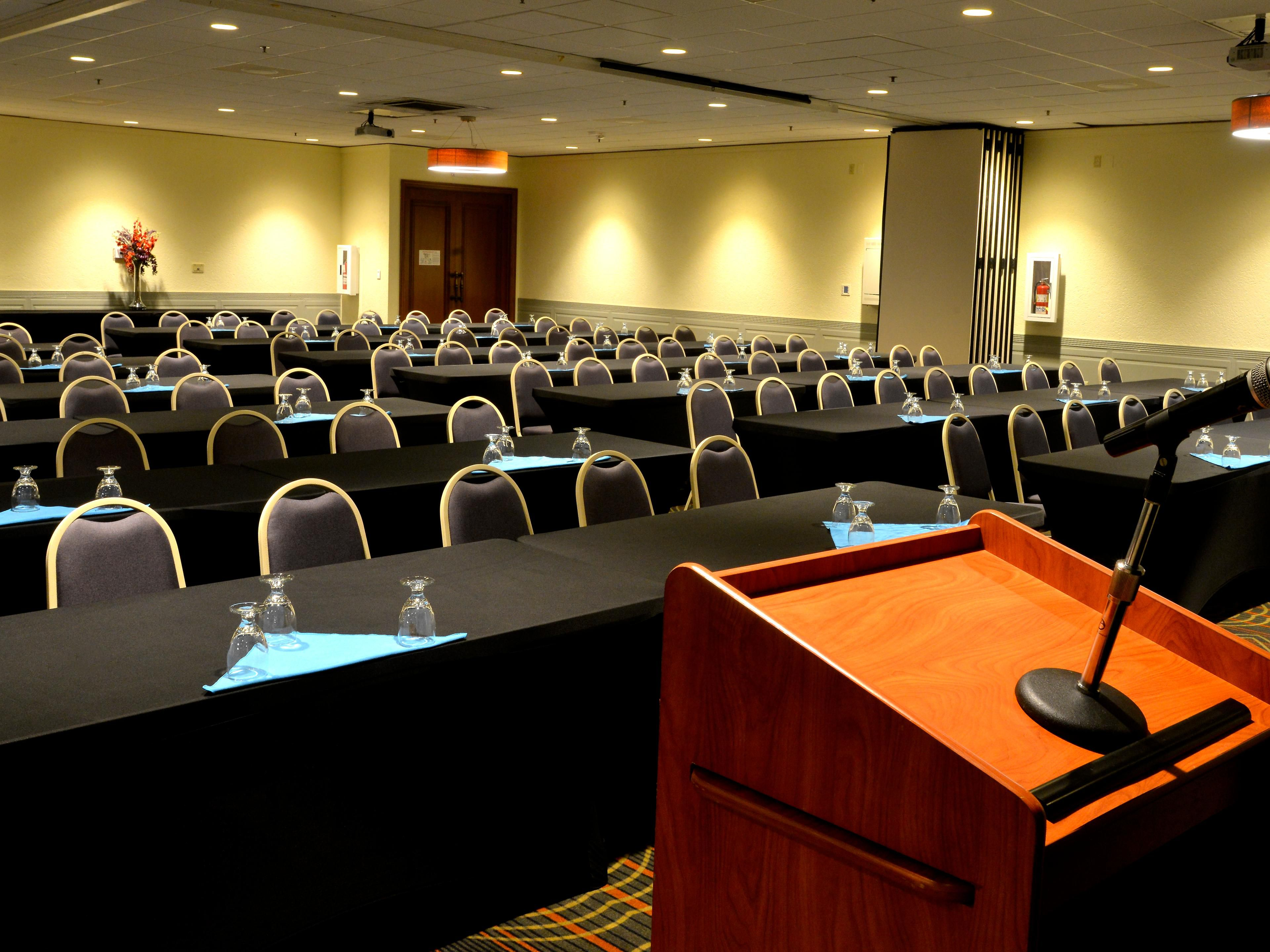 Our Largest Meeting room provides plenty of space four your event