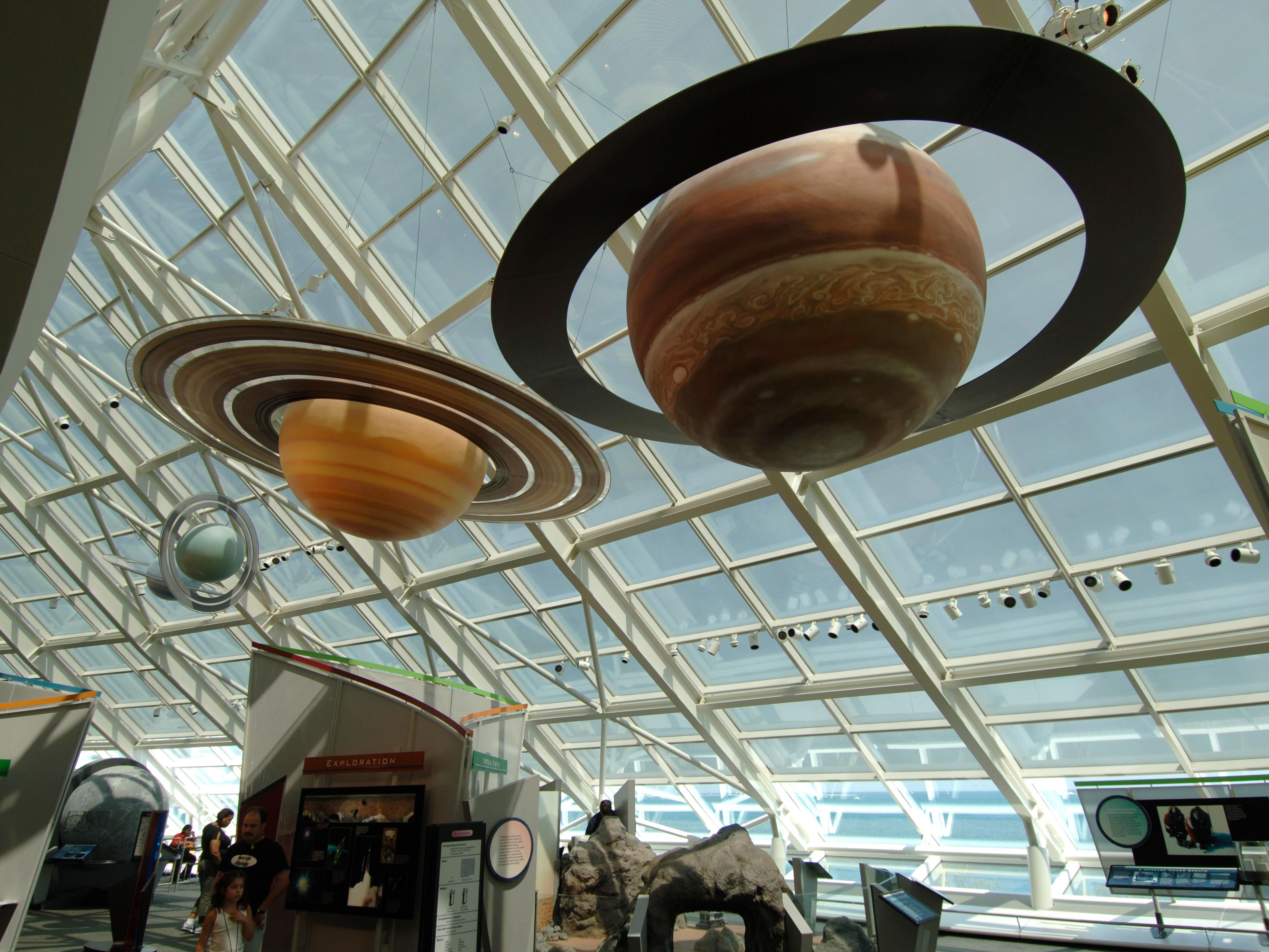 Adler Planetarium located in Chicago at the Museum Campus
