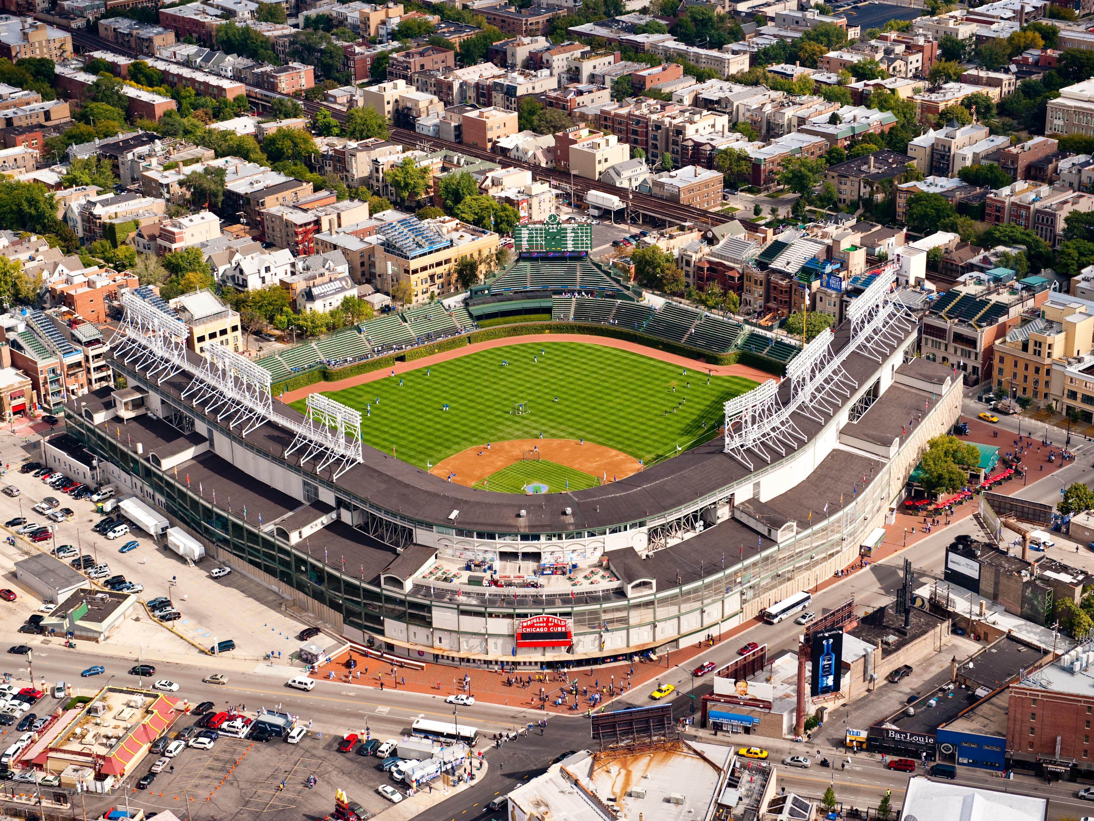 Chicago Cubs baseball at Wrigley Field Chicago, Illinois