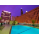 Holiday Inn Downtown Chicago Rooftop Pool view of Willis Tower