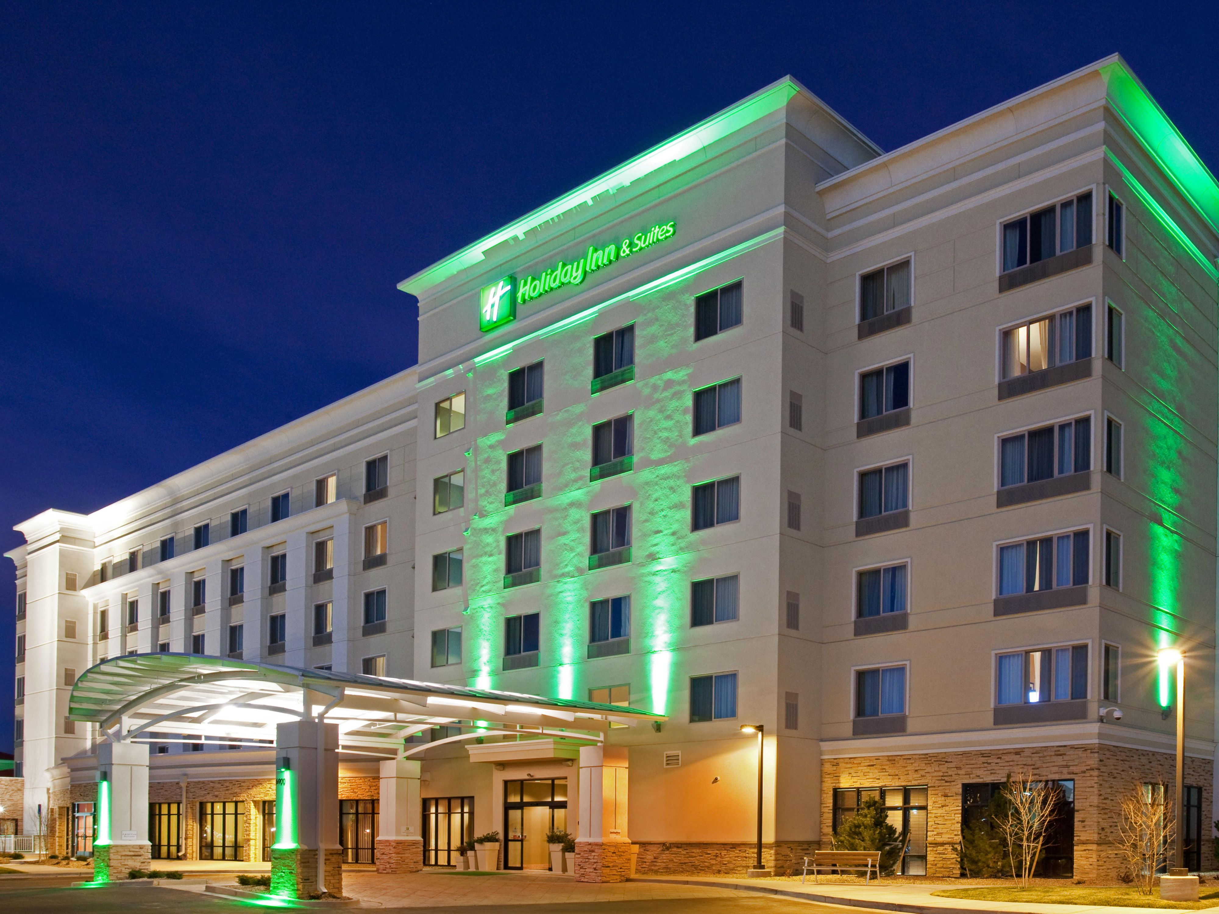 Welcome To The Holiday Inn & Suites- Denver Airport!