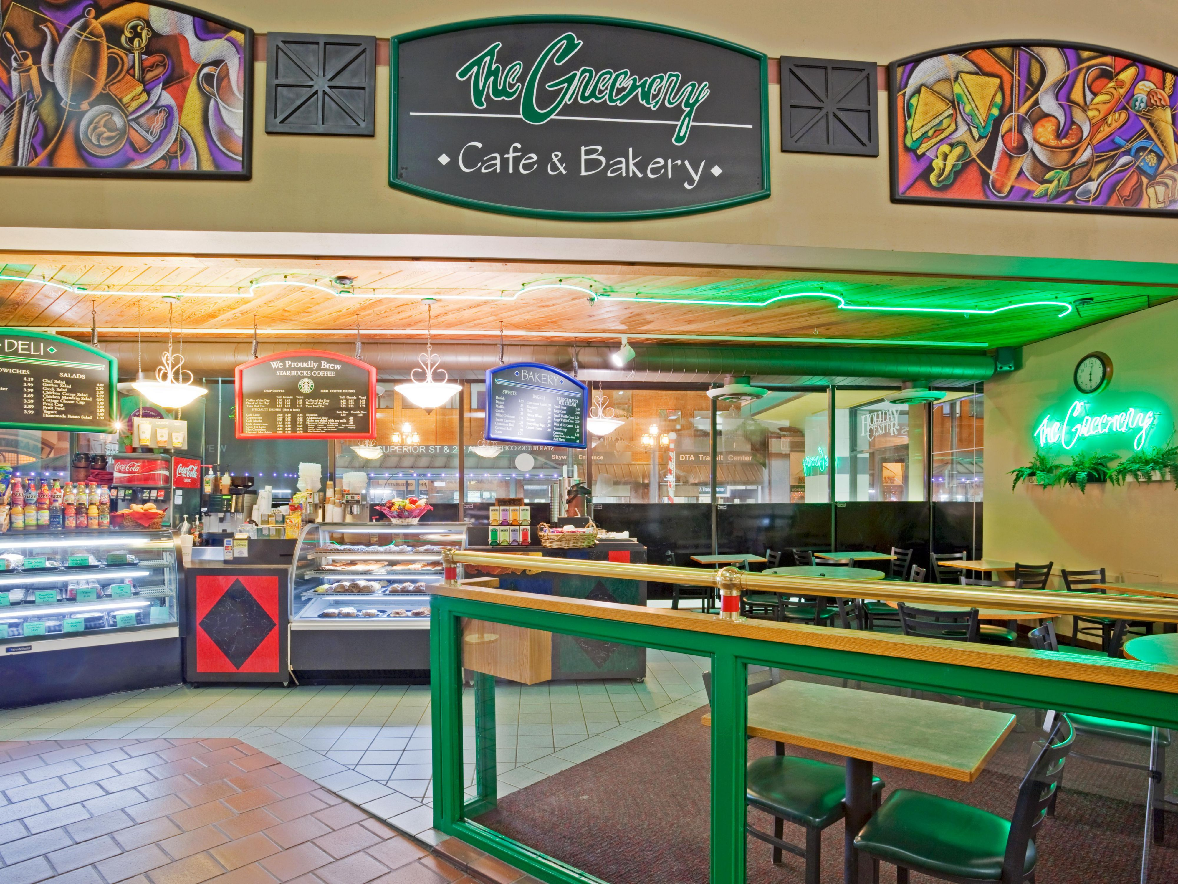 Get something to go at The Greenery Cafe & Bakery