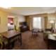 Queen Deluxe Suite Living Room Area