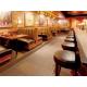 Comfortable bar seating at Houlihan's Restaurant + Bar