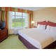 King corner suite with Golf Views and two 32' LCD TVs