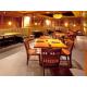 Seating area of Houlihan's Restaurant + Bar