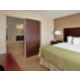 Suite with King Bed and Separate Living Area