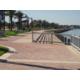 Lakefront boardwalk