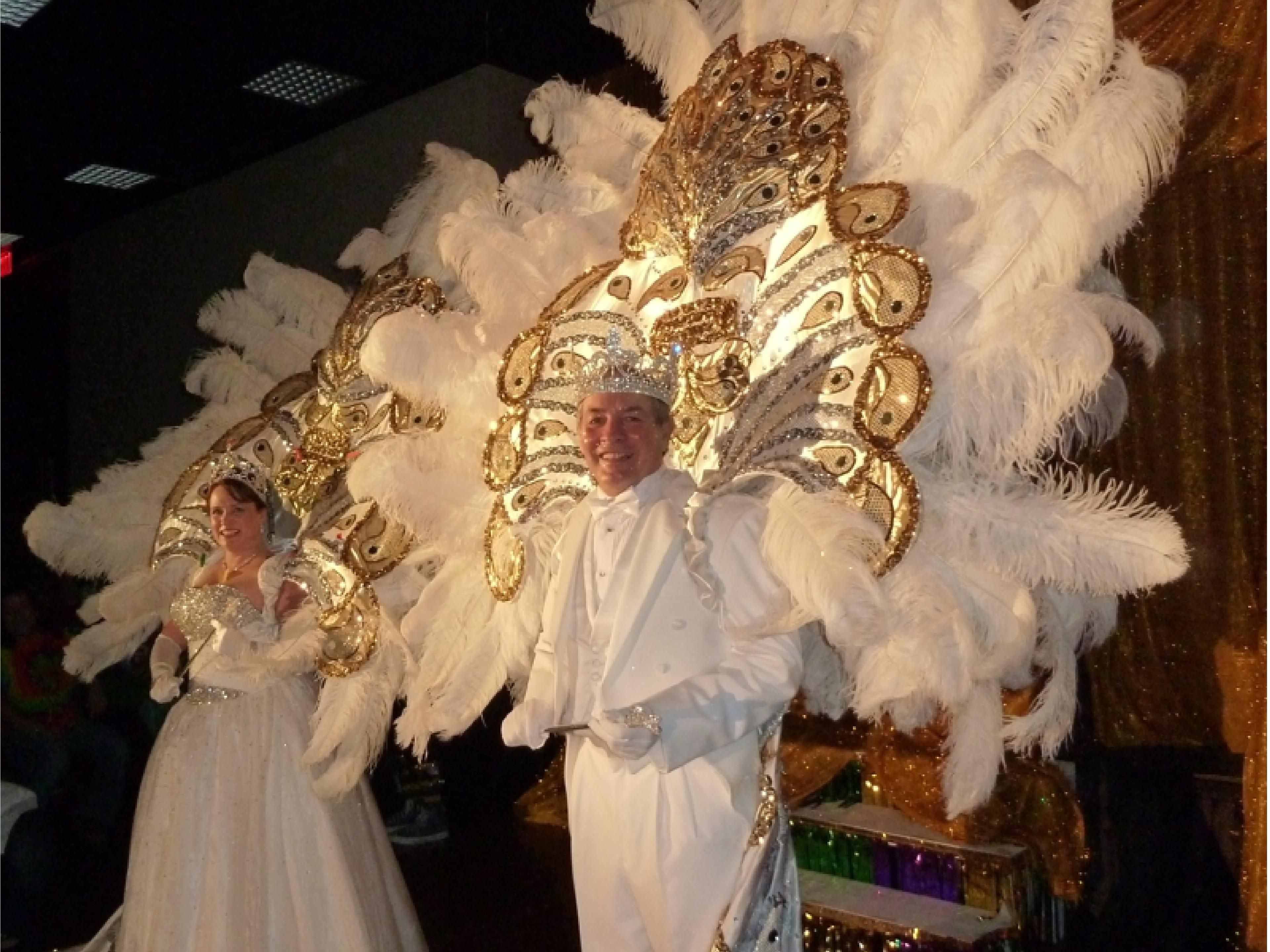 Mardi Gras - King & Queen