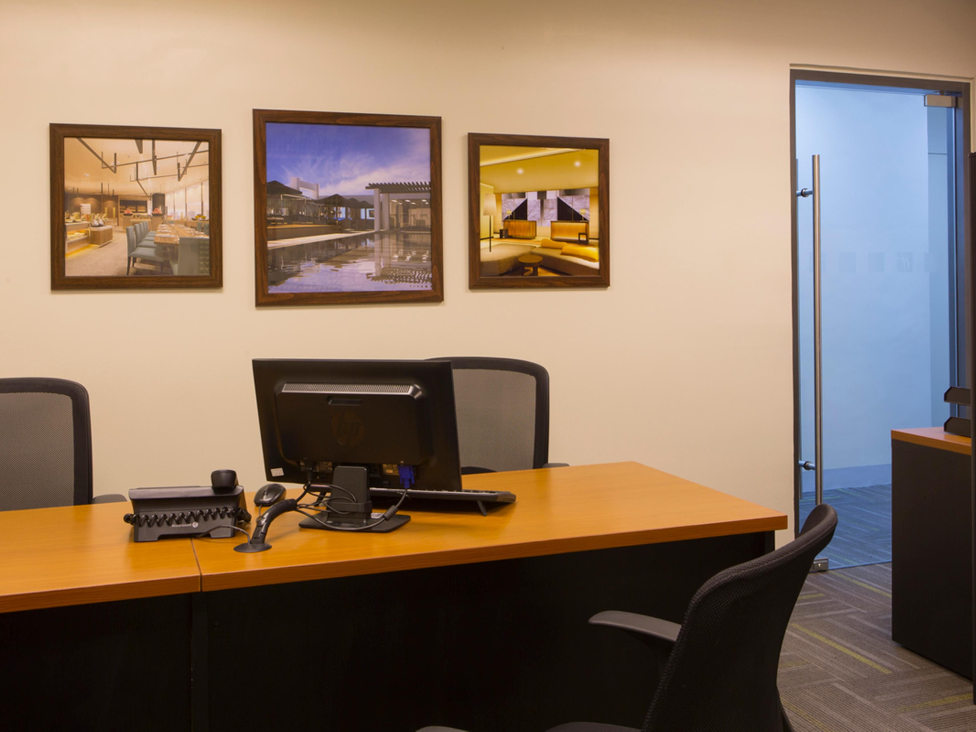 Our Business Center is located at the lobby level