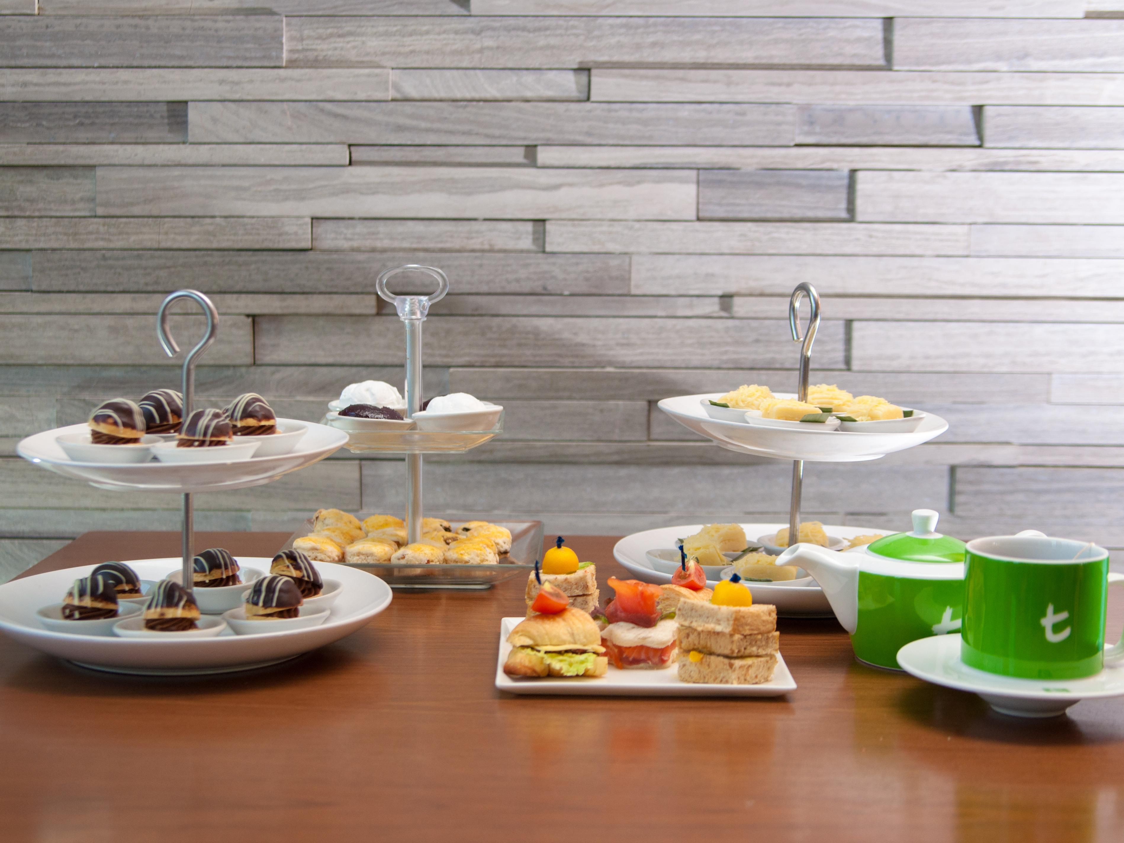 High tea offers at the Executive Lounge
