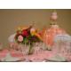 Wedding Idea Peach and White