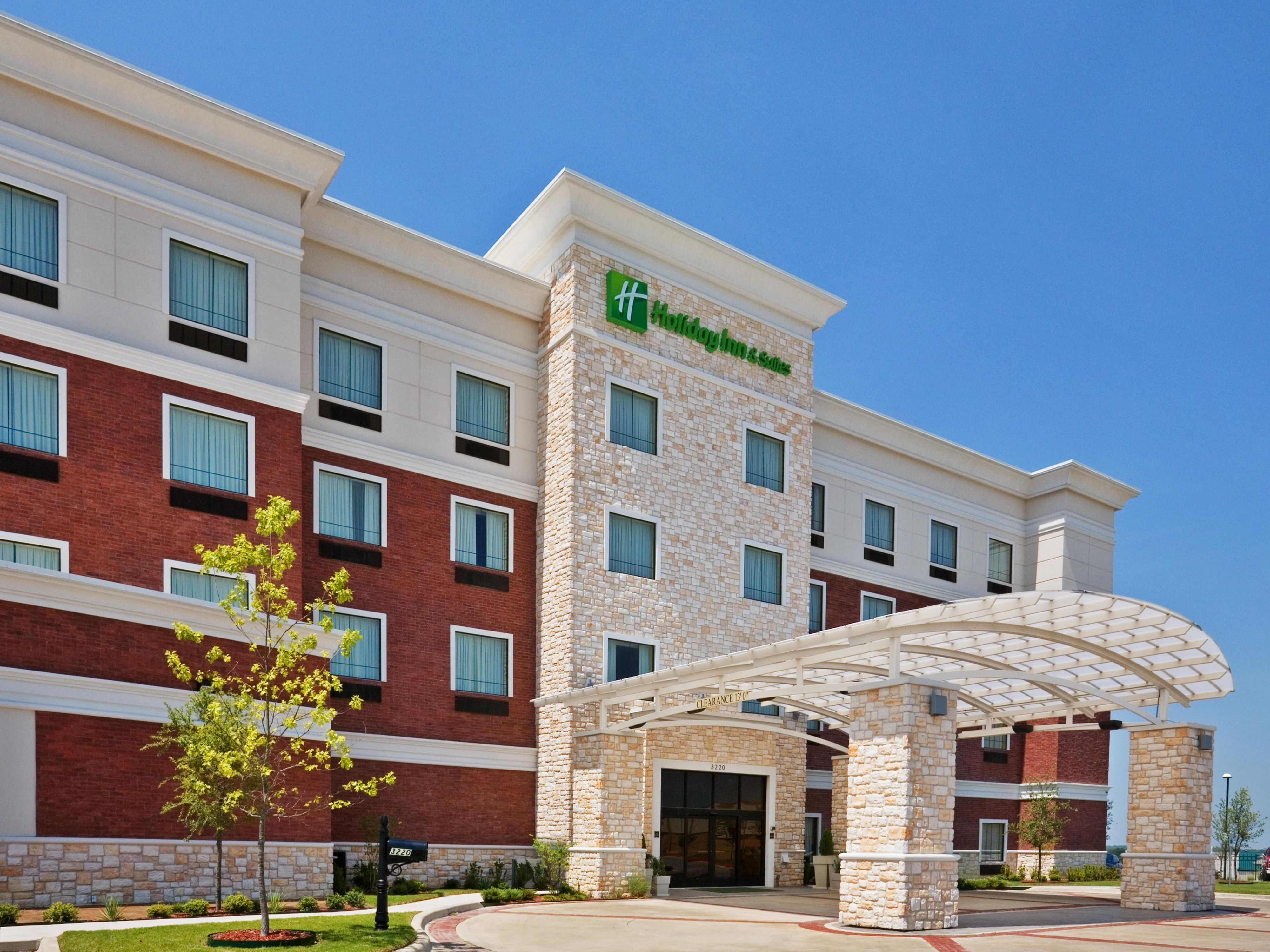 Welcome to Holiday Inn and Suites - McKinney.