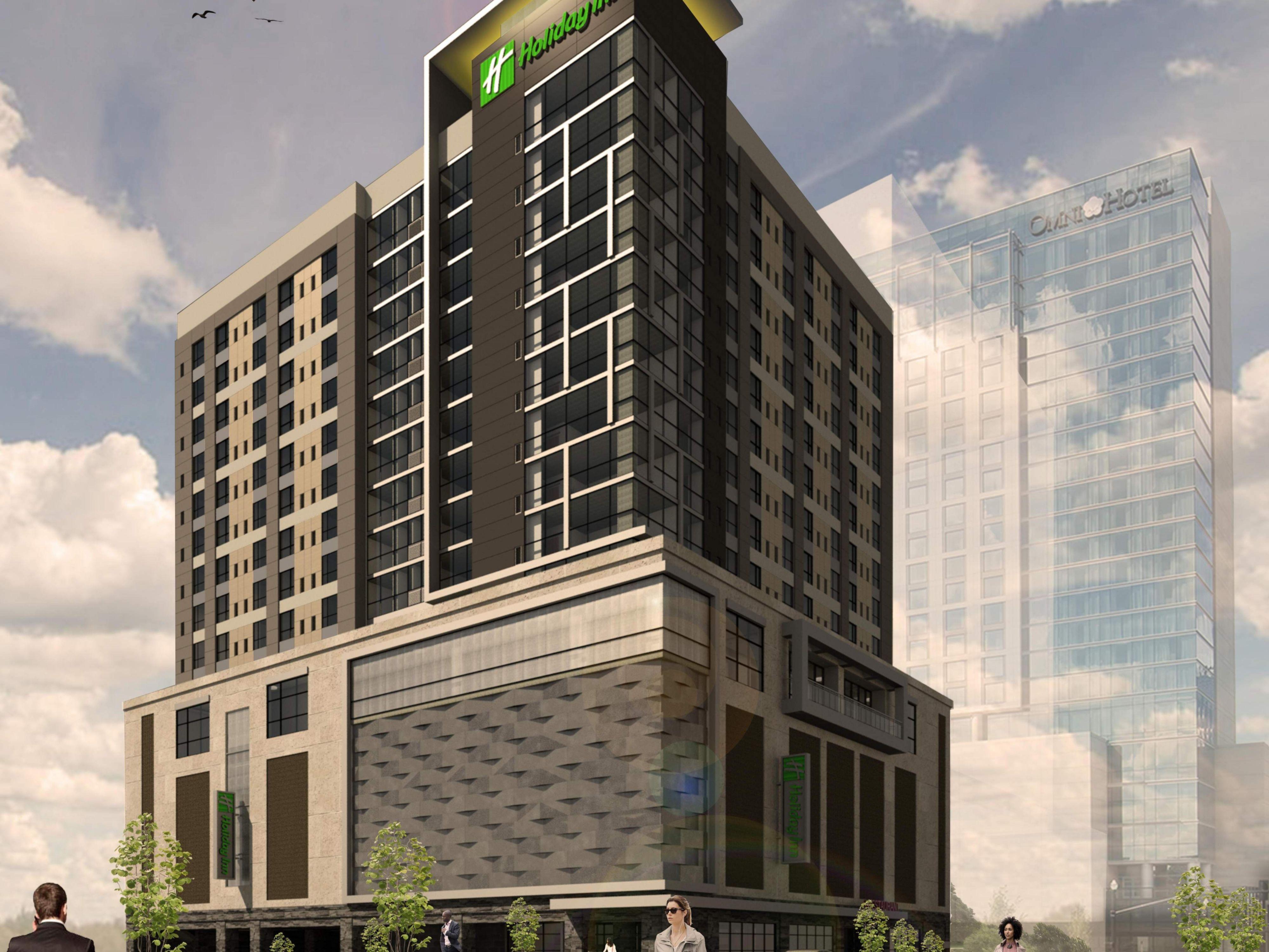 Downtown nashville tn hotel holiday inn nashville downtown 37210 for Hotel suites nashville tn 2 bedroom