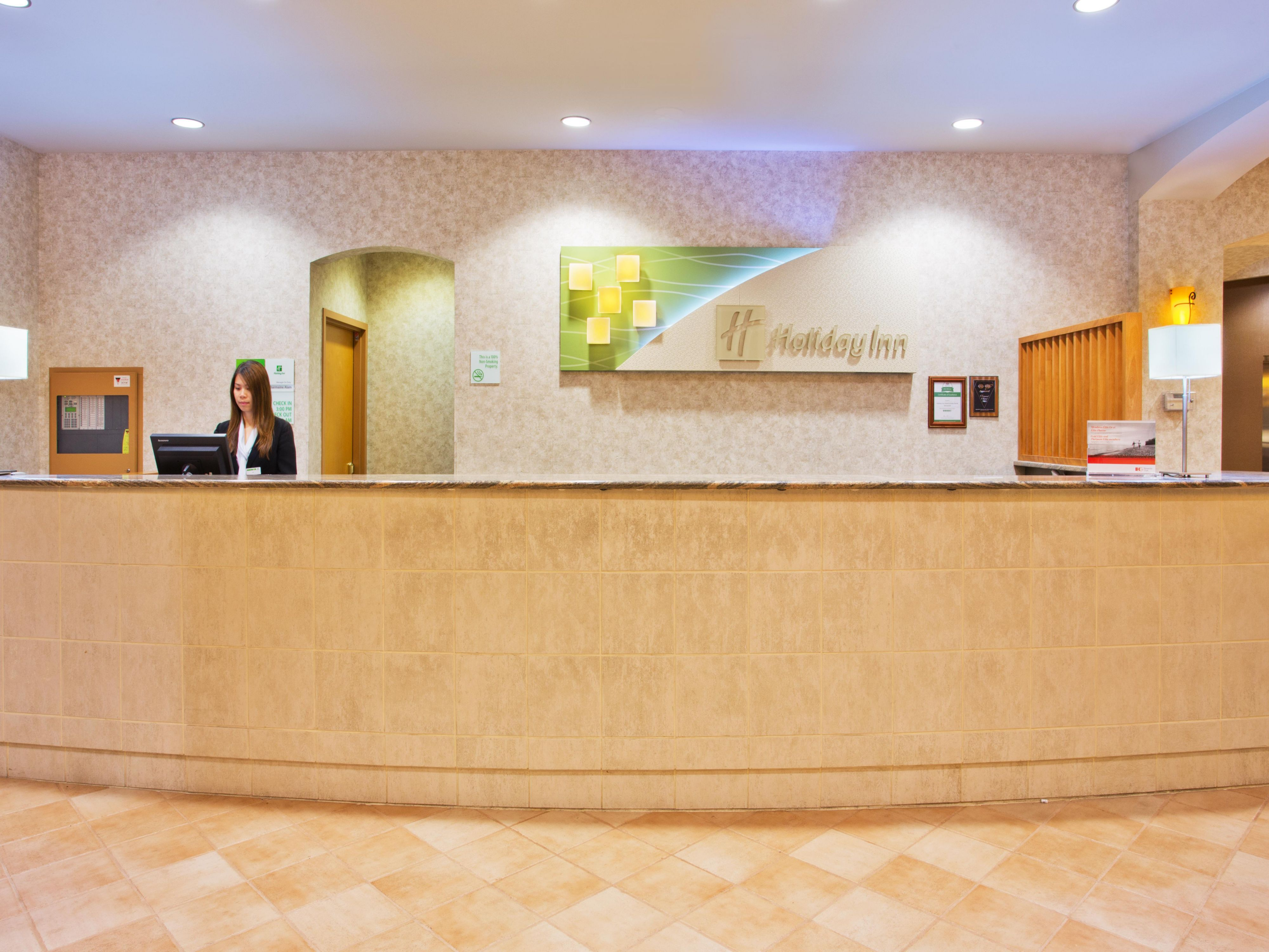 Our front desk team welcomes you