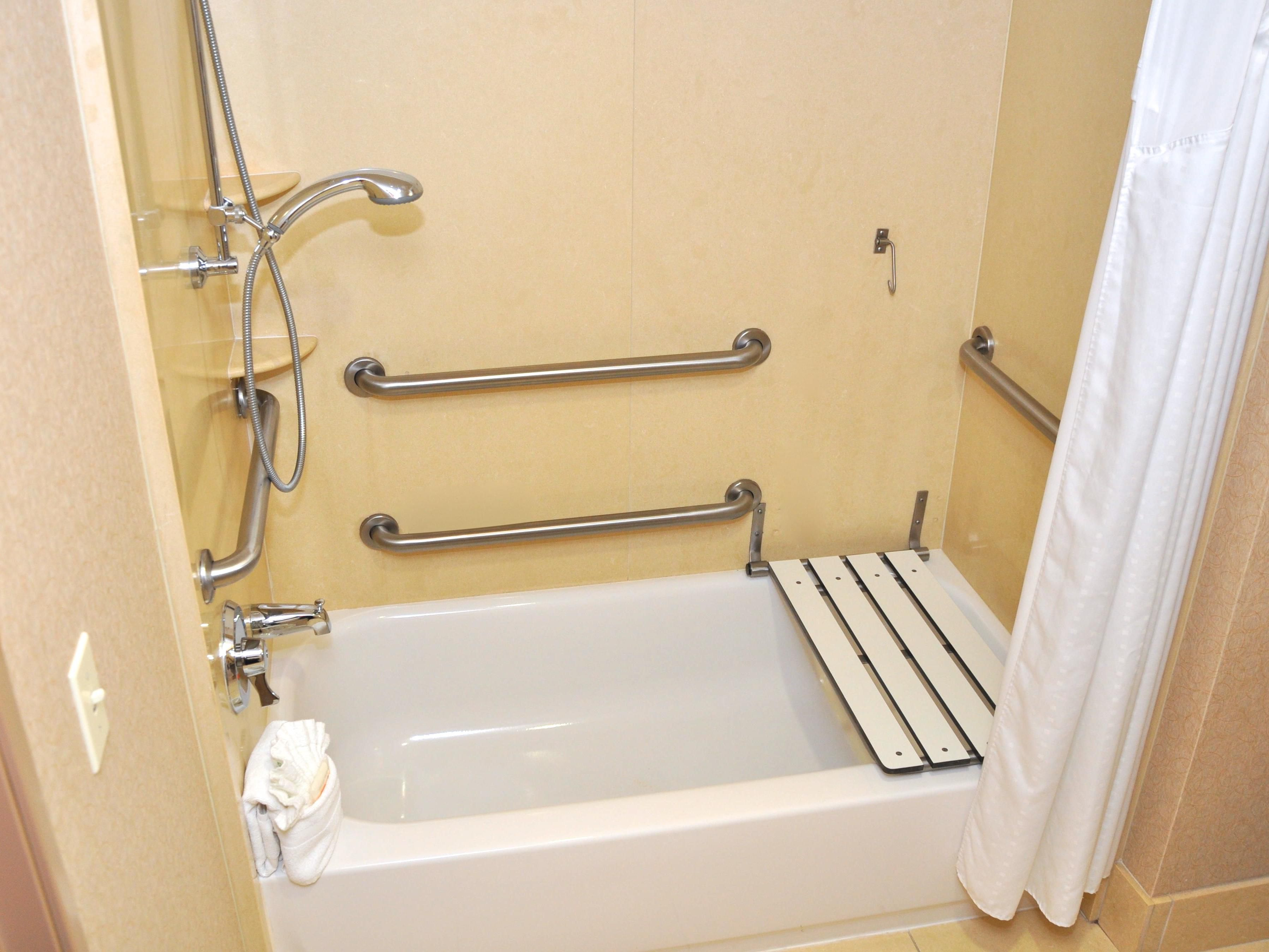King mobility accessible tub