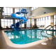 Swimming Pool & Slide at Main Lobby of Holiday Inn Red Deer
