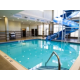 Swimming Pool & Waterslide at Holiday Inn & Suites Red Deer South