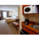 King Leisure Room with Sofa Bed and Wet Bar
