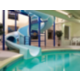 Swimming Pool with 1.5 Story Waterslide