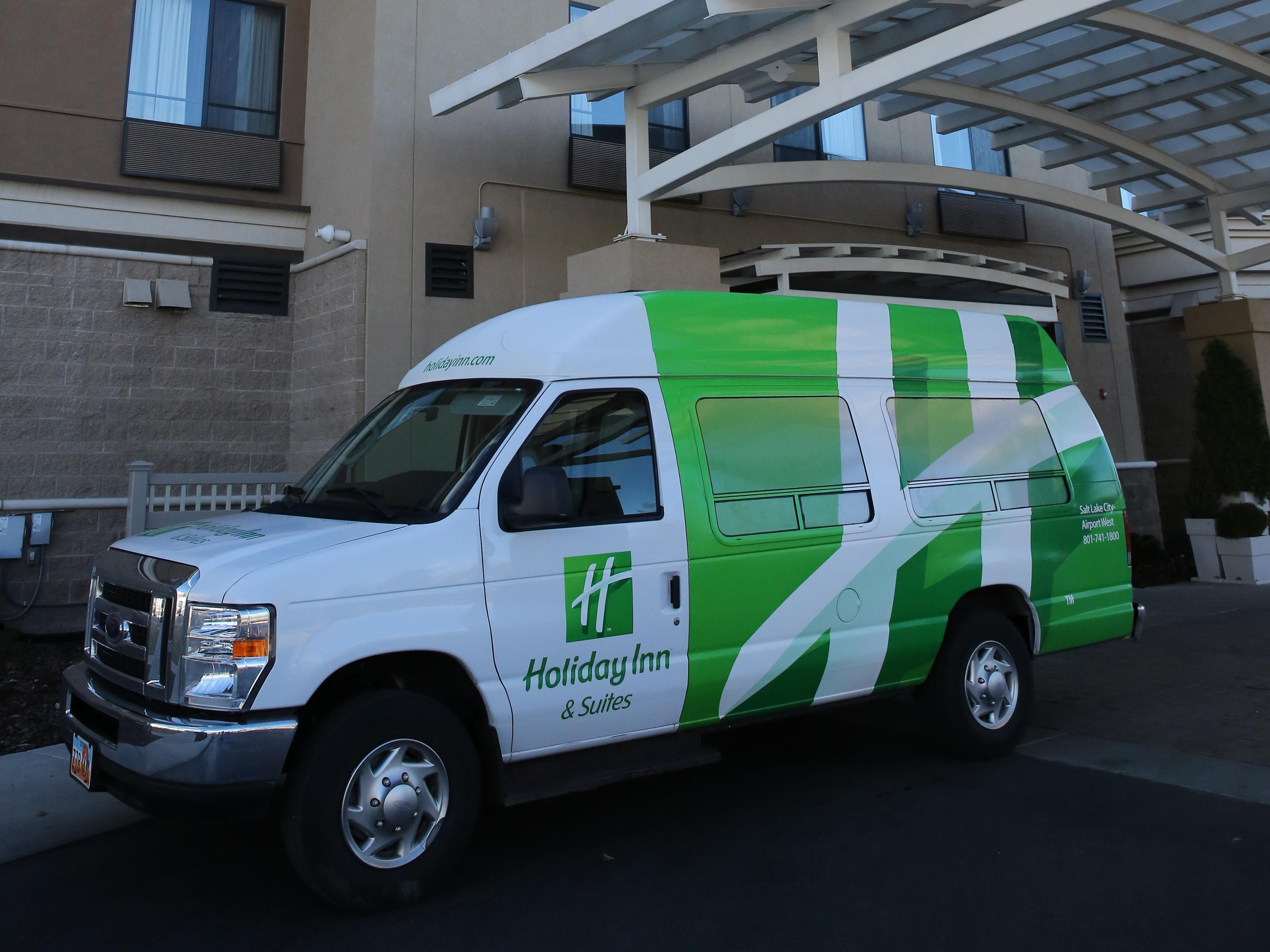 Our airport shuttle is available daily from 4 AM - Midnight