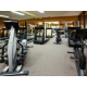 Fitness center with treadmill, elliptical and more!