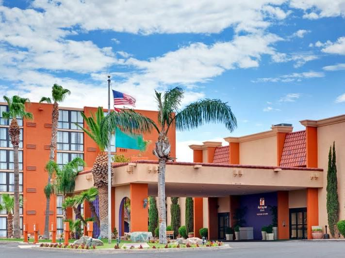 Holiday Inn Tucson Airport Main Entrance and Tower