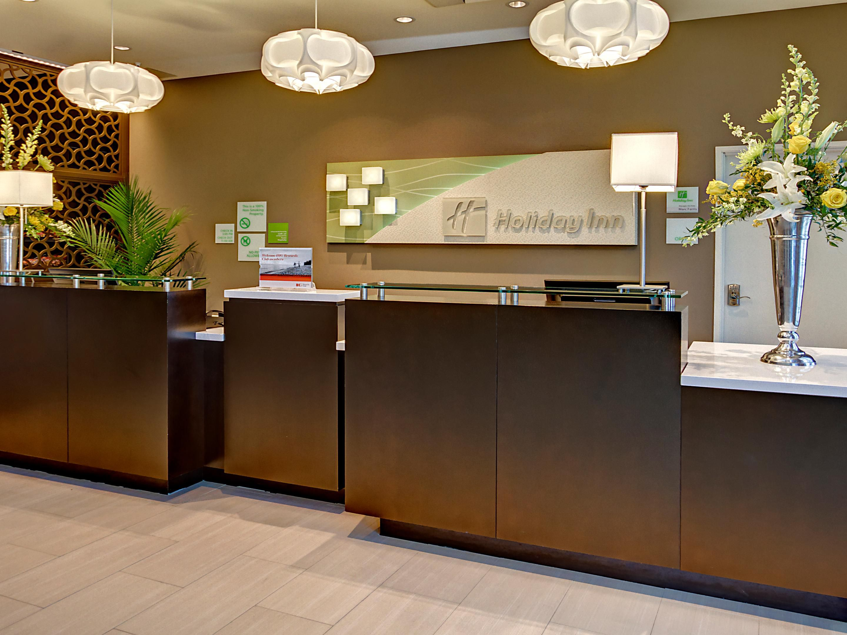 Welcome to the Holiday Inn & Suites Tupelo North.