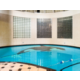 Kids will love our indoor heated swimming pool
