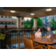 Guests can enjoy the outdoor terrace at Holiday Inn Vancouver