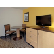 King Suite Living Room great for groups and corporate guests
