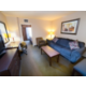 1 King Suite with a Pullout Sofa