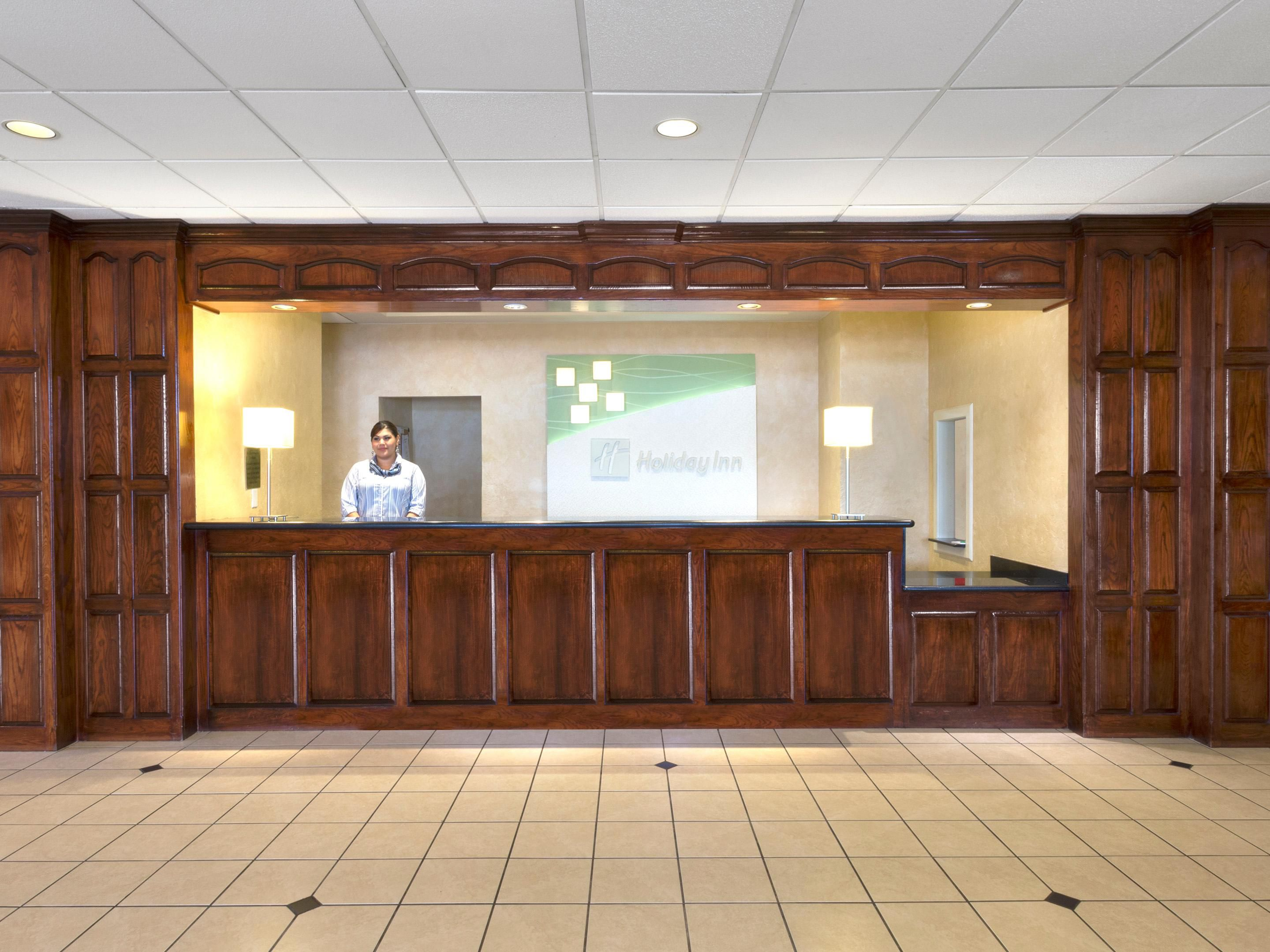 Courteous and Friendly Front Desk at Holiday Inn Hobby Airport