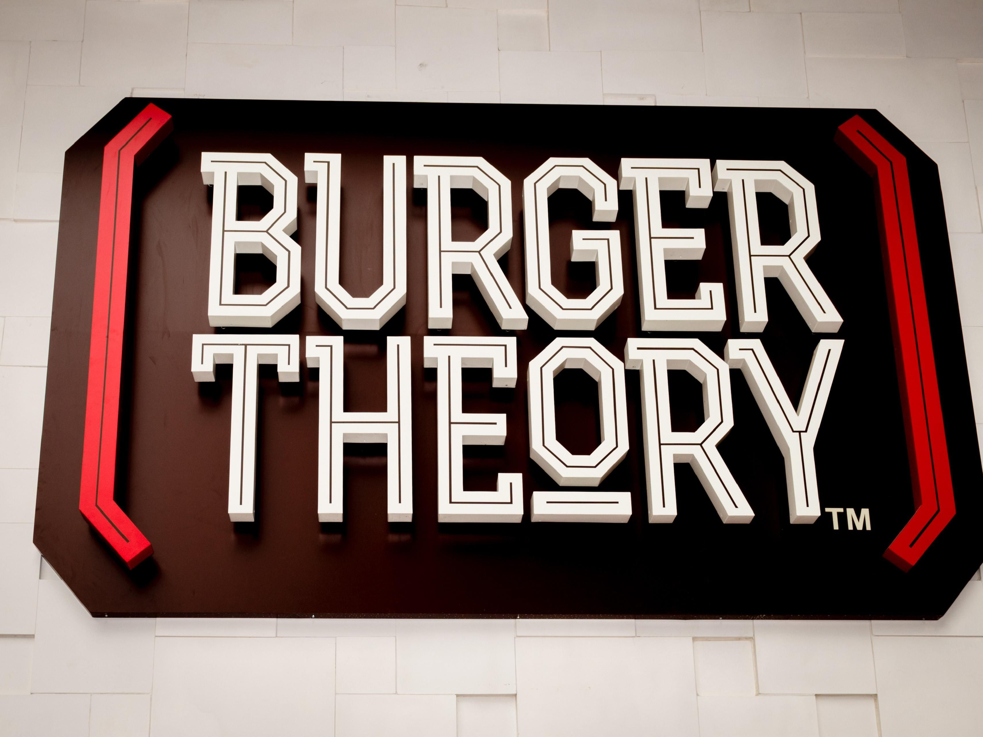 Come enjoy a signature burger or hot wings from Burger Theory