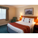 Comfortable double bedded room  with en suite bathroom